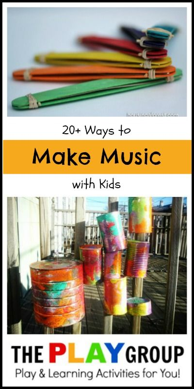 Great ideas for parents, classroom teachers, or music teachers to teach music to small children (mostly preschool/early elementary).  There's ideas for musical games, projects (like making their own instruments), experiments, and suggestions for great kids' music albums (musical audiobooks, classical, Bible songs, etc.).  Awesome resource!