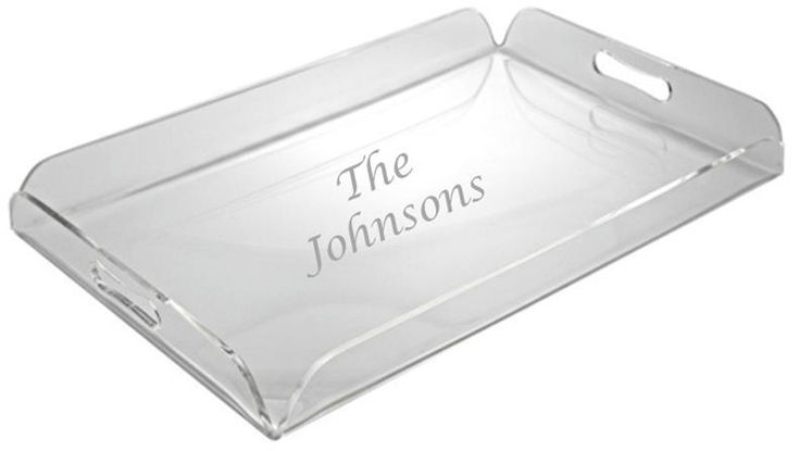 StationeryXpress.com - Personalized Serving Tray with Handles - Personalized Hostess Gifts, $45.99 (http://www.stationeryxpress.com/personalized-serving-tray-with-handles-personalized-hostess-gifts/am1055/)