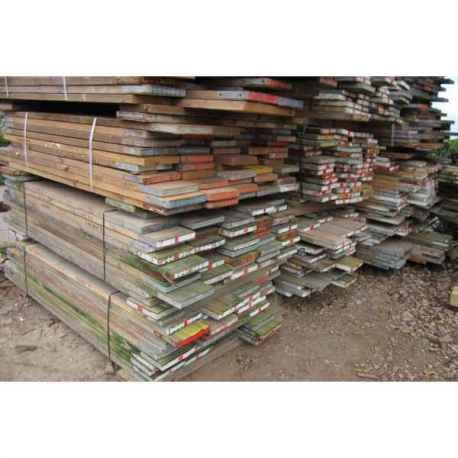 Reclaimed 5ft used scaffold boards, ideal for garden, landscaping, furniture or building requirements.