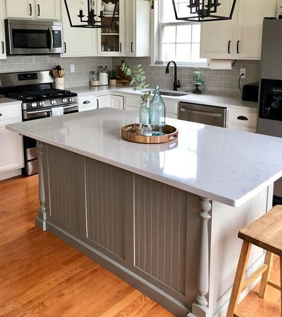 Cabinet Dimensions Of One Pictured In This Listing Is 54 X 30 Color Of Cabinet S In 2020 Custom Kitchen Island Kitchen Renovation Kitchen Island With Seating