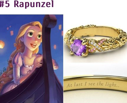 Disney princess ring