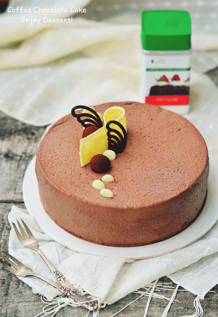 Torta al cioccolato, caffè e tonka