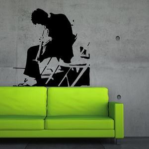 Simple Wandtattoo uCool Jazz u Schwarz jetzt auf Fab Wandsticker VinylART und Wall