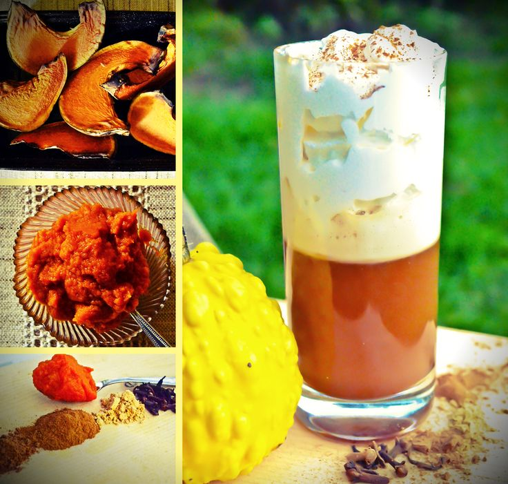Home made pumpkin spice latte. Copyright © OfficeCaffe 2013. All rights reserved