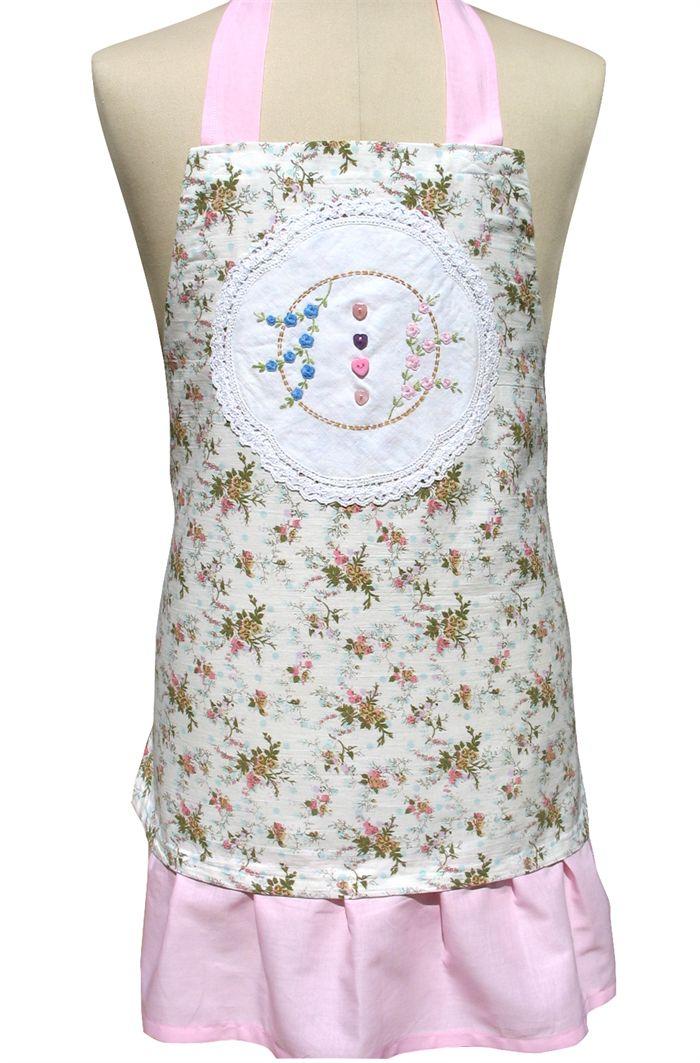 Heartfelt Fundraiser - High Tea Apron with Heart Buttons. Mother's Day Gift Idea