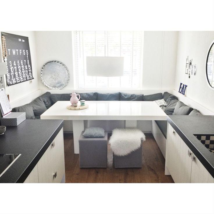 Keuken Eethoek Ikea : een kleine keuken op 7m2 foto ikea leuk idee voor keuken studio