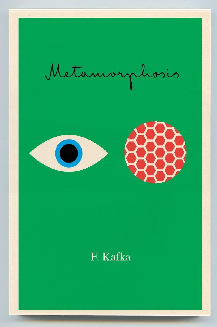 Franz Kafka - Metamorphosis / designed by Peter Mendelsund