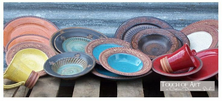 Touch Of Art PotteryWestern Style Dinnerware HOME