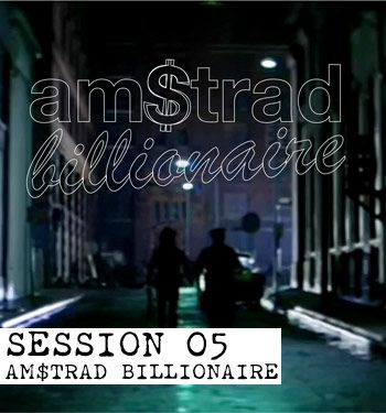 SESSION 05: AM$TRAD BILLIONAIRE  They've just been signed by Silicone Soul's Darkroom Dubs imprint, and they're bringing years of promoting one of Glasgow's most exciting nights to bear on some mightily sexy productions. Now Mehdi Dadrass and Jamie Young are behind the decks for the latest instalment of EQTV's exclusive mix series…