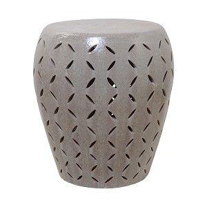 Large Lattice Gray Glaze Ceramic Garden Stool .finegardenproducts.com  sc 1 st  Pinterest & 159 best Ceramic Garden Stools images on Pinterest | Ceramic ... islam-shia.org