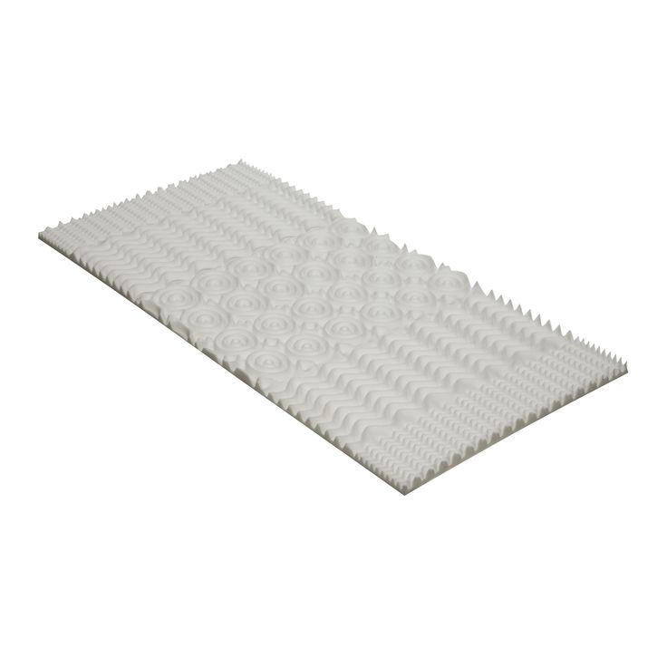 Independent Convoluted Memory Foam Mattress Topper