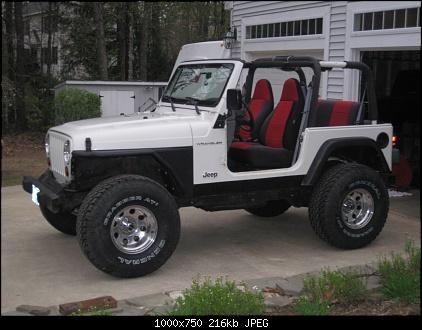 jeep tj | 1998 white tj's Jeep Profile :: 1998 Jeep Wrangler TJ