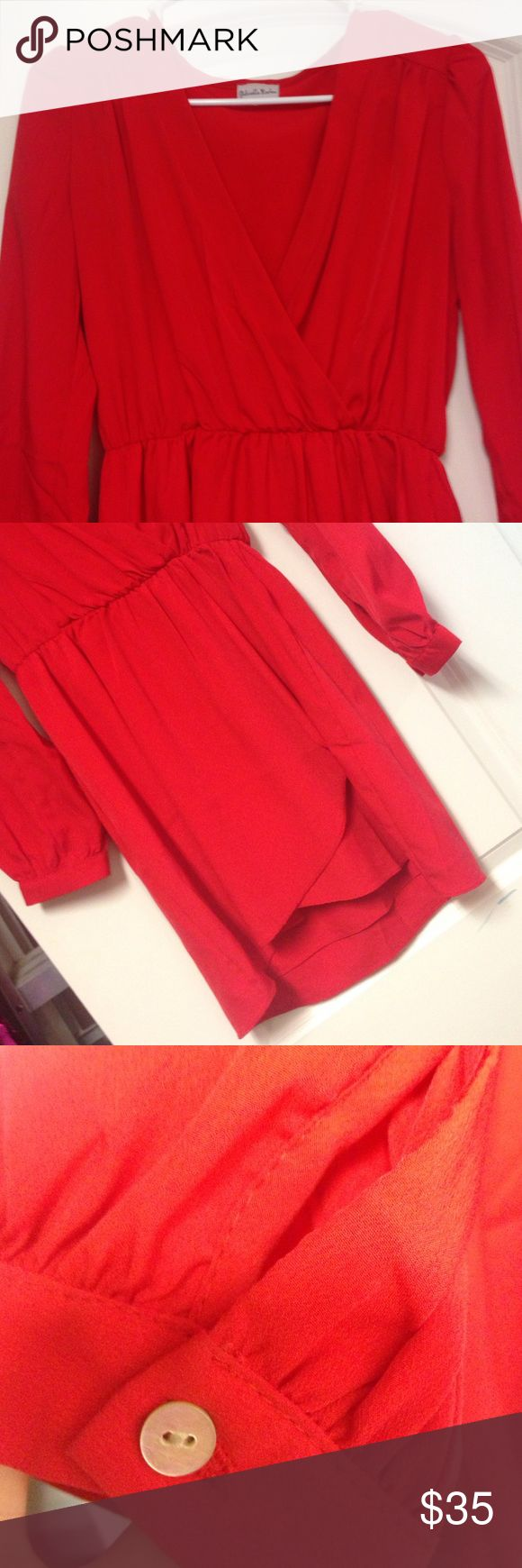 Gabriella Rocha Dress Super cute!! M/L. Gabriella Rocha. Only worn once! Gabriella Rocha Dresses Long Sleeve