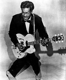 Chuck Berry 1957 ~ Berry was honored alongside Leonard Cohen as the recipients of the first annual Pen Awards for songwriting excellence at the JFK Presidential Library, Boston, Mass. on February 26, 2012