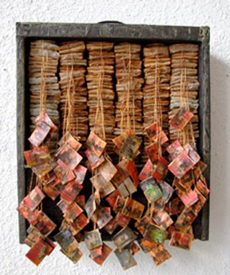 tea art, save and dry your bags when you are done steeping, tea bags in a drawer