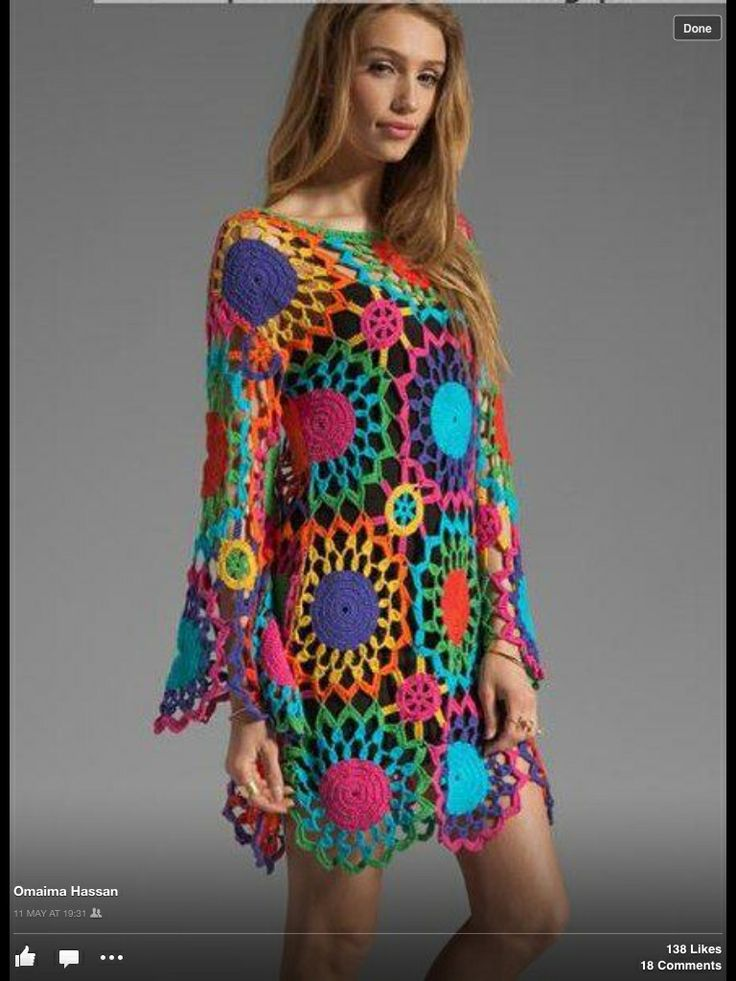 LOVE the colors and designs on this. CAN'T WAIT until I get this good at crocheting.