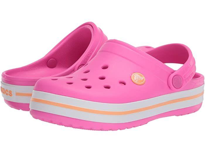 NEW GENUINE Crocs Kids Electro Hot Pink Cantaloupe