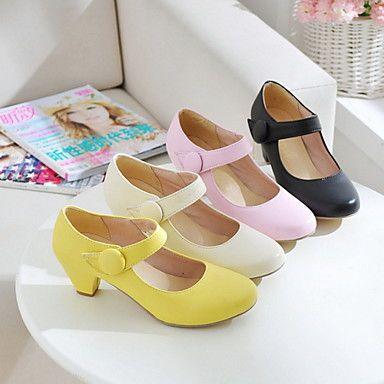 damesschoenen ronde neus chuncky hiel mary jane pompen schoenen meer kleuren beschikbaar - EUR € 20.62