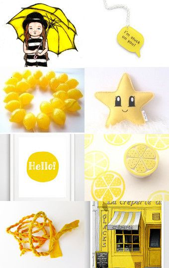 Pale Yellow by P Petrocy on Etsy--Pinned with TreasuryPin.com