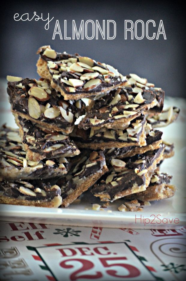 Easy Almond Roca Recipe for Hip2Save