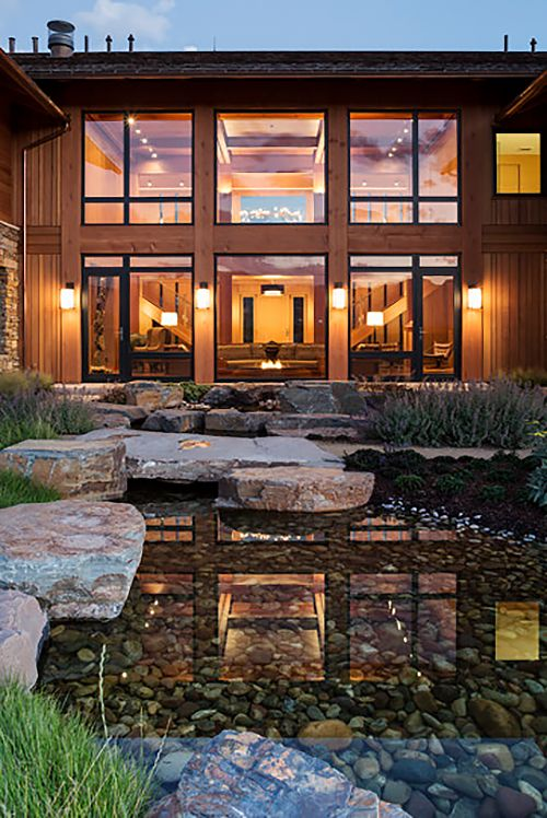 Rustic meets contemporary: Rabbit Brush Residence in Wyoming by Carney Logan Burke Architects