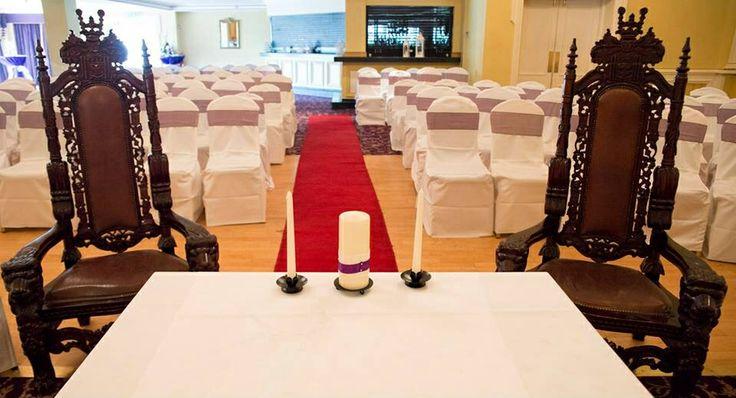 The civil ceremony room