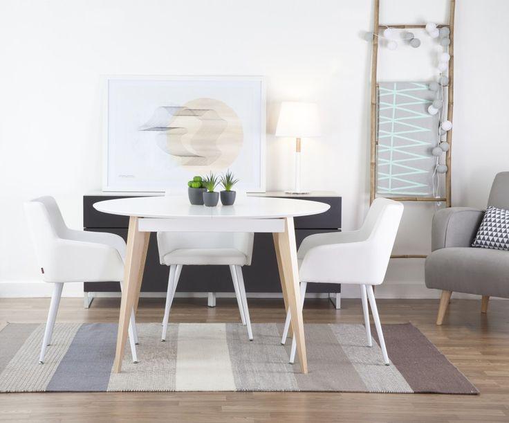 M s de 25 ideas incre bles sobre mesa redonda extensible for Mesa redonda extensible barata
