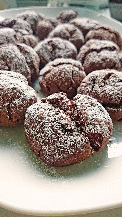 Chefkoch.de Rezept: Superschnelle Nutella-Plätzchen