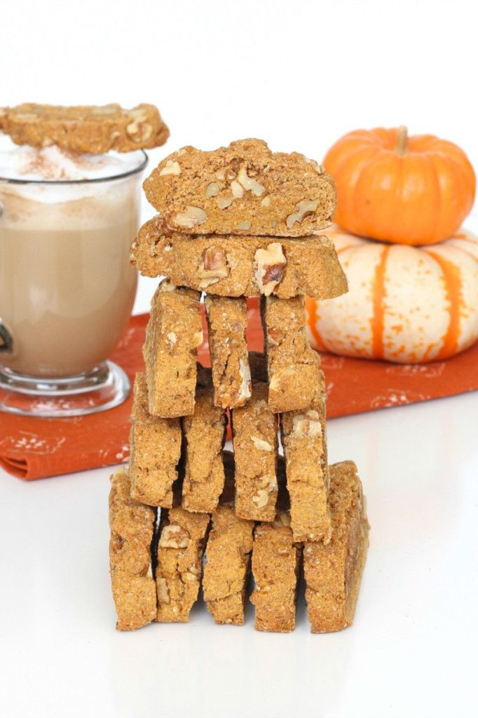Pumpkin Walnut Biscotti