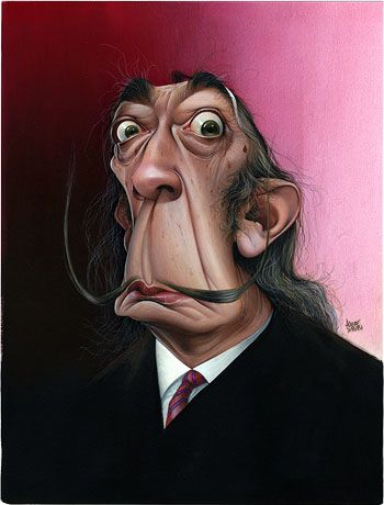 Salvador Dali Artist: Achille Superbi website: http://www.achillesuperbi.it/