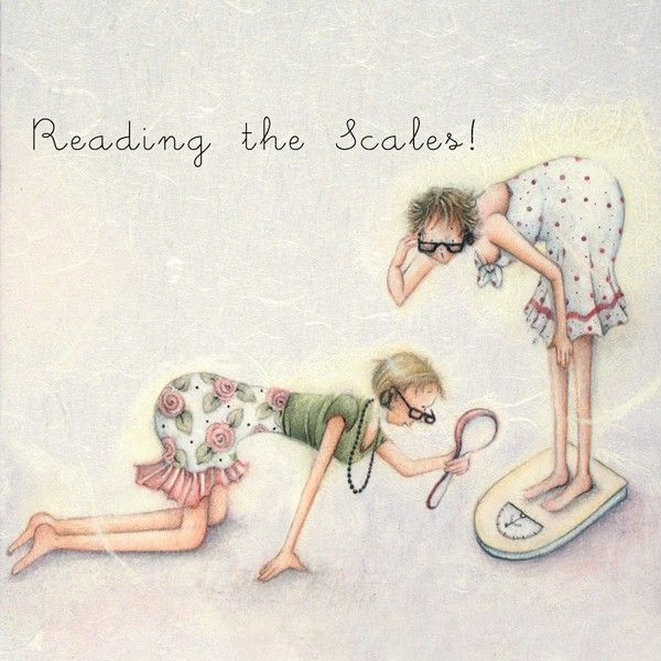 Cards » Reading the Scales » Reading the Scales - Berni Parker Designs