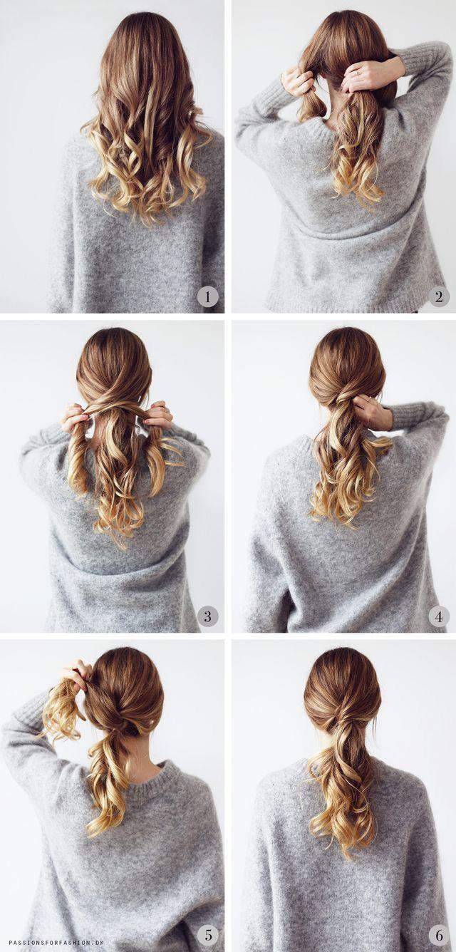 #Daily #Easy #fun #Hairstyles #Routine #15