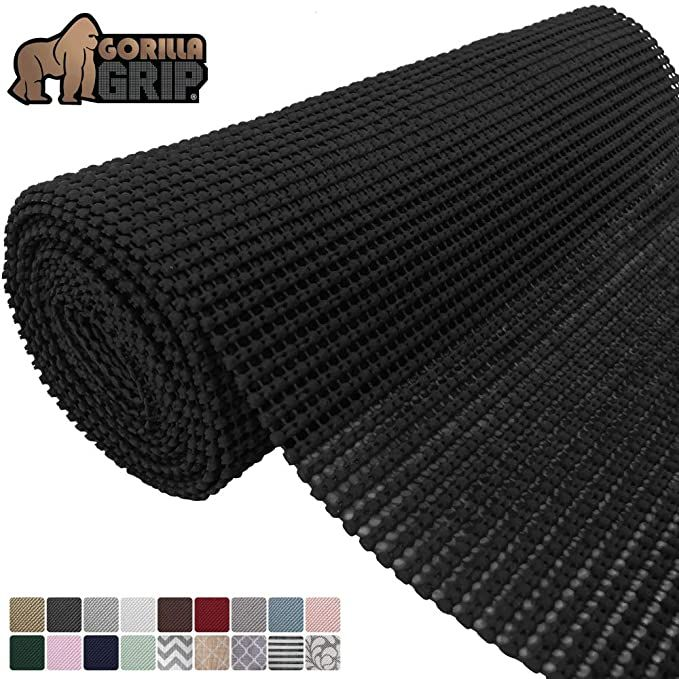 Amazon Com Gorilla Grip Original Drawer And Shelf Liner Non Adhesive Roll 12 Inch X 20 Ft Durable And Str Drawer And Shelf Liner Shelf Liner The Originals
