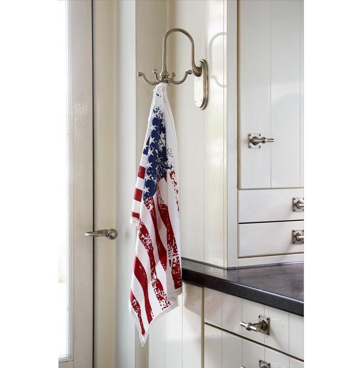 RM Tea Towel Stars and Stripes - Autumn 2016 | Rivièra Maison