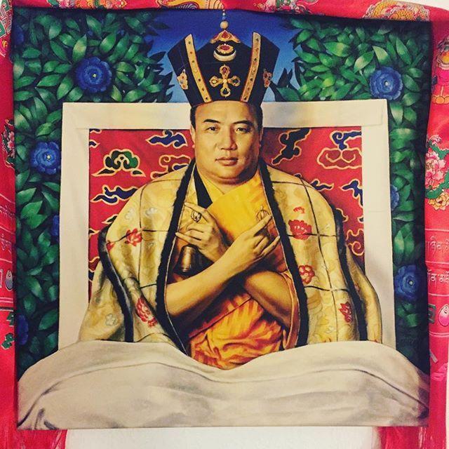 #Painting of the 16th #Karmapa #print on #canvas #kagyulineage #buddhism #buddha #karmapa #karmakagyu #karmapachenno #kagyu #mantra #mandala #mahakala #Rinpoche #Lama #Dharma #dupsengrinpoche #chogyalrinpoche #chogyal #dupseng #vajrayana #meditation