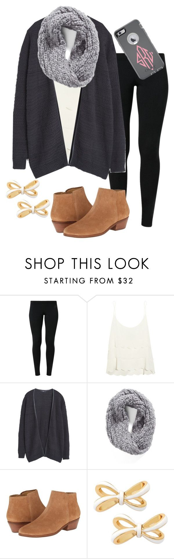 """Is this cute?"" by madelyn-abigail ❤ liked on Polyvore featuring moda, NIKE, Topshop, MANGO, Collection XIIX, Jack Rogers, Kate Spade, OtterBox, women's clothing e women's fashion"
