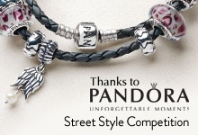 Enter the Pandora Street Style competition by uploading a photo of your Street Style using the hashtag #PandoraStreetStyle    For more details go to http://www.tv3.co.nz/NewZealandFashionWeek/Win/WinWithPandoraStreetStyle.aspx