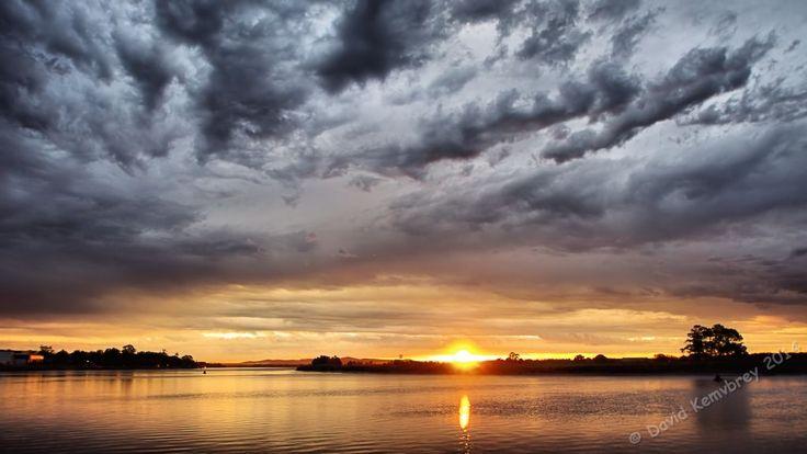 Sunset after the storm@ Raymond Terrace NSW, Australia