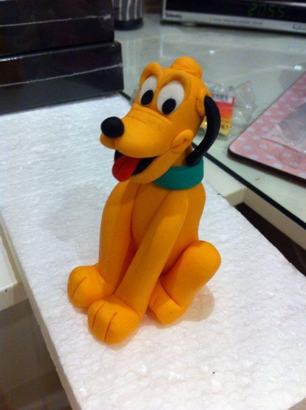 Plutoooo comestible!! Para la tarta de Mickey!! En Anadulcenana buscanos en Facebook!!