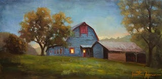 """Evening Sanctuary"" Jonathan Howe original"