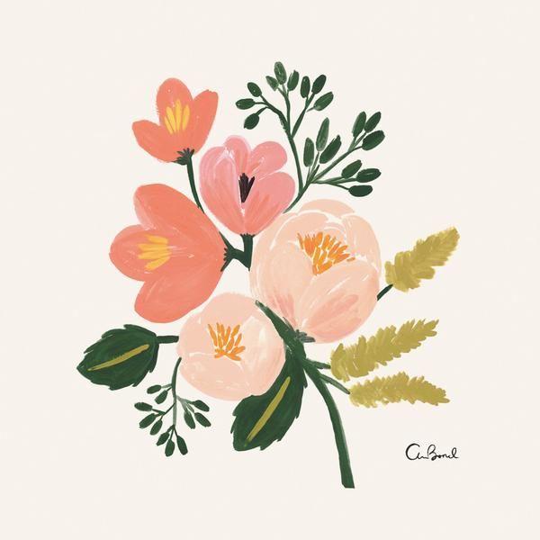 Rose Botanical 8x10 Art Print