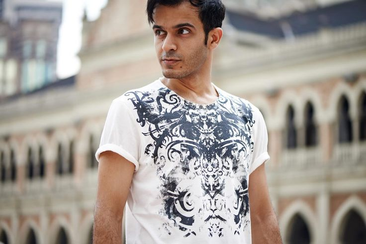 IBAN ORNAMENT no.1 t-shirt. More on www.selvastore.com