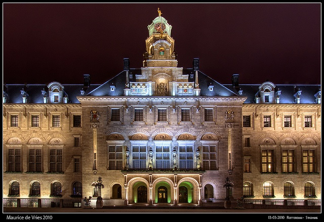 Rotterdam Stadhuis, Netherlands by DreamScapes - Maurice, via Flickr