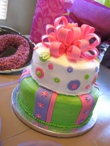 Cute for girl or baby shower