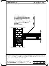Pardoseala pe grinzi de lemn - detaliu deasupra unui subsol neincalzit, sectiune transversala AUSTROTHERM