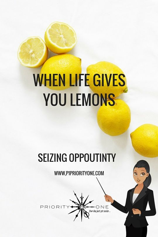 When life gives you lemons, don't just run away from them! Make the best lemonade anyone has ever tasted! In other words, seize the opportunity!   Having a business mindset doesn't always come easily, you really either have it or you don't, but it can also take a while along the way to develop it. Releasing the fear that holds us back and...Click Link for more