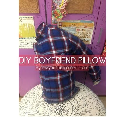 Video tutorial: DIY boyfriend pillow... LOL should make for Jenna.. @Style Space & Stuff Blog Garcia