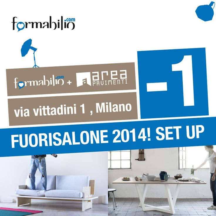 Fuorisalone // Milano Design Week is starting tomorrow! https://www.formabilio.com/fuorisalone-2014