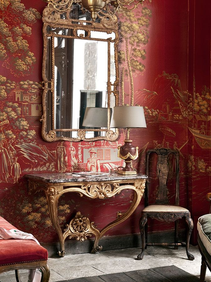 de Gournay: Our Collections - Wallpapers & Fabrics Collection - Papiers Peints Panoramiques Collection |