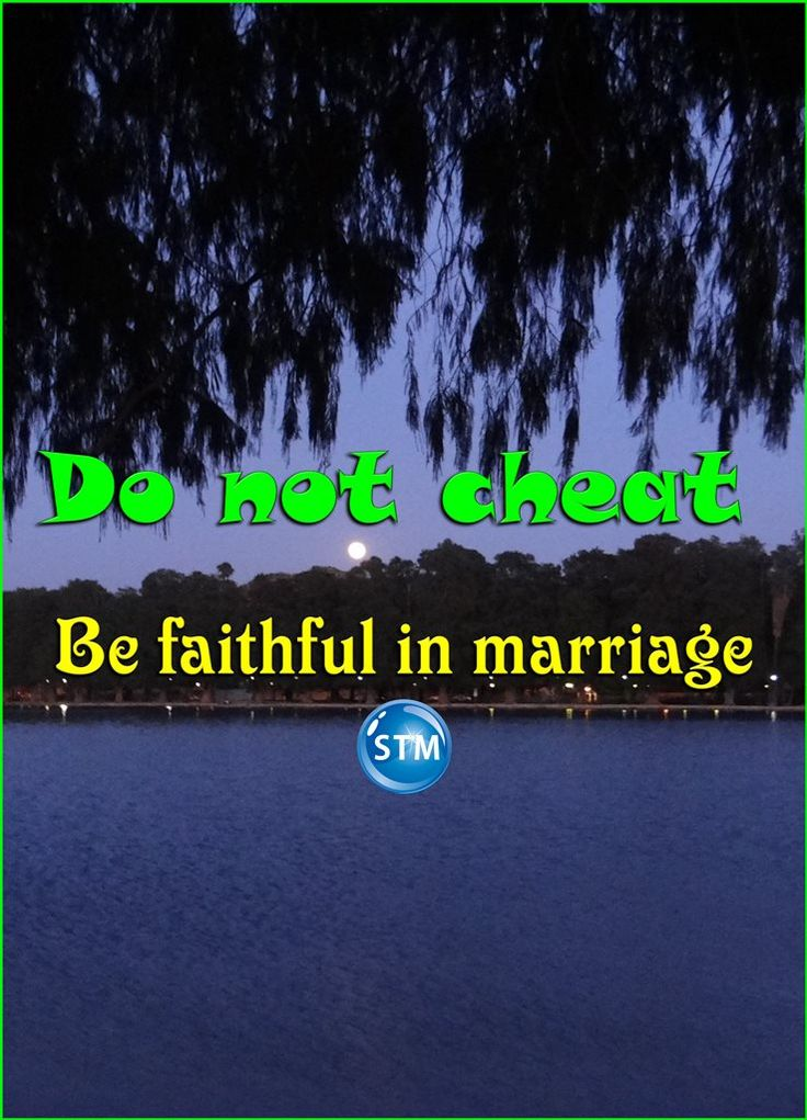 "Please do not be a #sexual #cheater. Be #faithful to your #spouse. Why risk destroying your #personal and #spiritual #life, is it worth it?  Pray for and work to have a strong/lasting marriage!  Do not miss this thought provoking Bible study, 'Adultery': http://stministry.com/adultery/ <<-- the link.  Message in the picture: ""Do not cheat, be faithful in marriage""  Scripture for the day: 2 Peter 2:10-14 The Lord is especially hard on people who disobey him and don't think of anything except…"